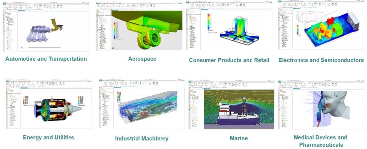 Floefd para Solid Edge es el software cfd para la simulación fluidodinámica