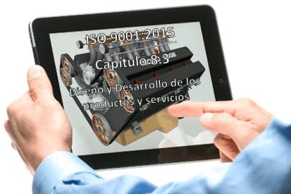 apartado 8.3 -ISO 9001:2015