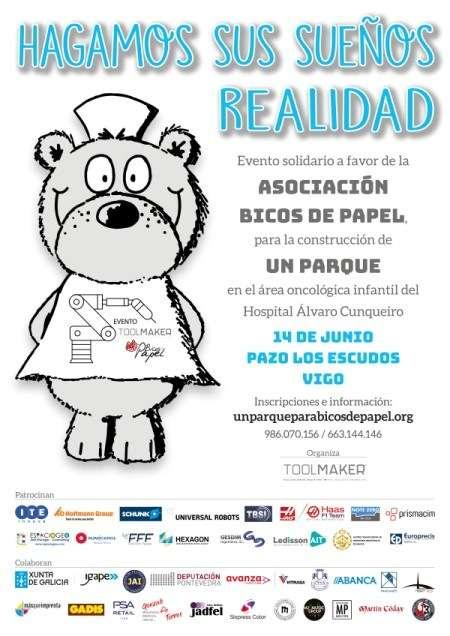 Prismacim patrocinador de evento a favor de la asociación bicos de papel