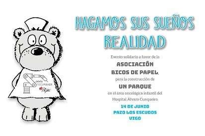 Prismacim patrocinador del evento a favor de asociación Bicos de Papel