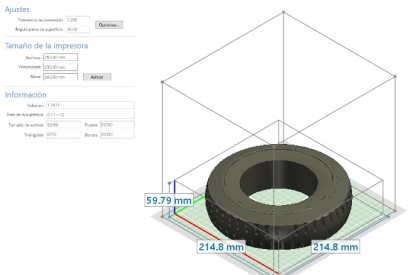 Normas básicas de diseño para impresión 3D