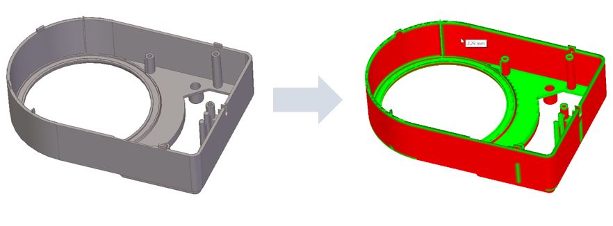 problemas de impresión 3d - Espesor mínimo pared del modelo