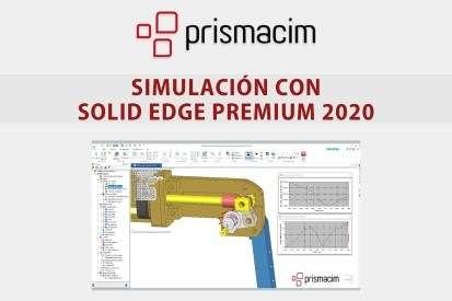 Simulación con Solid Edge Premium 2020