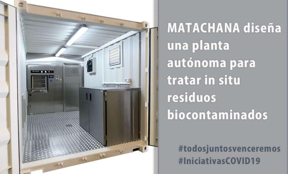 Matachana diseña una planta autónoma para tratar in situ residuos