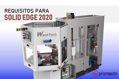 Requisitos solid edge 2020